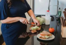 embarazada-cocinando