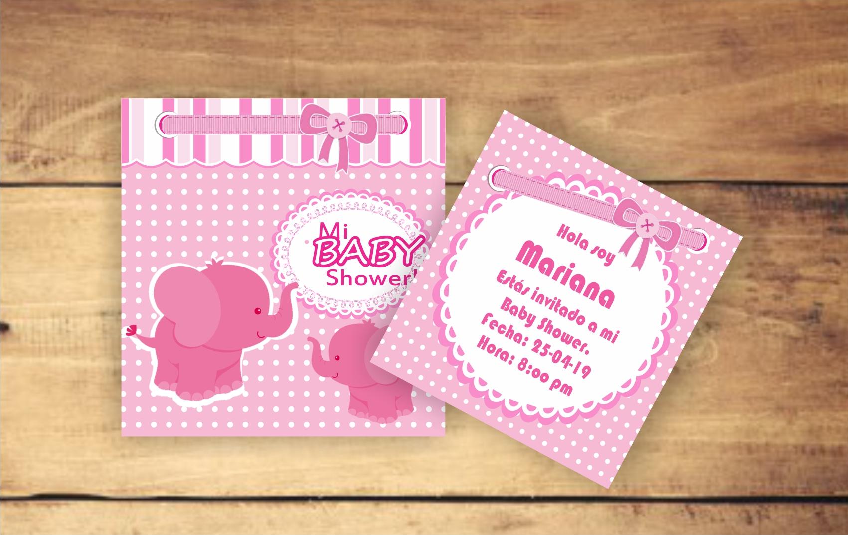 Invitaciones especiales de Baby Shower