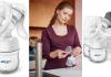 extractor de leche avent manual
