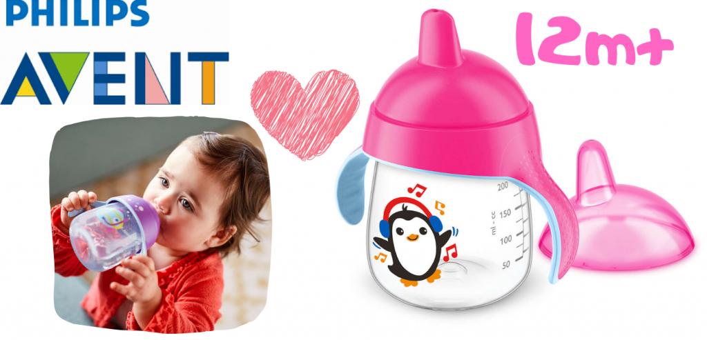 vasos para bebés y vaso avent