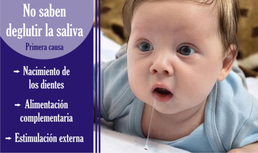 por qué mi bebé babea mucho - baberos para bebés