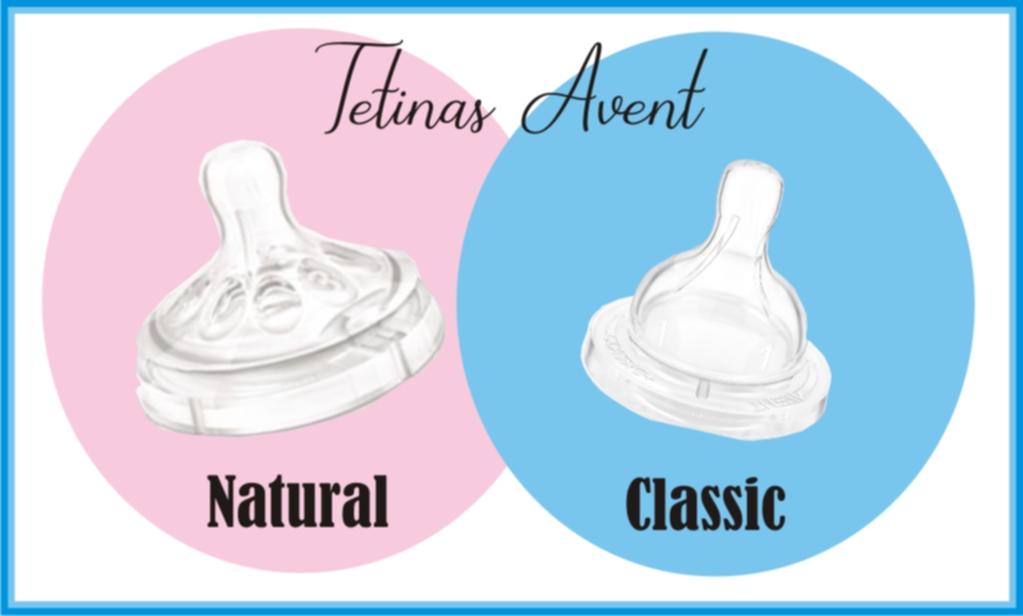Tetinas Avent Classic y Natural