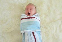 manta para bebé
