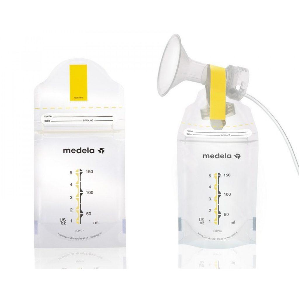 Bolsas para leche materna madela - cómo almacenar la leche materna