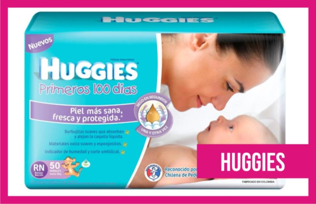 pañales de recién nacido huggies