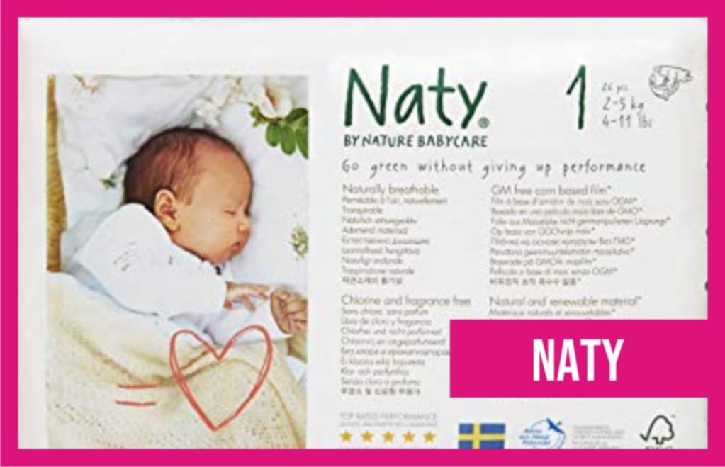 pañales de recién nacido Babycare