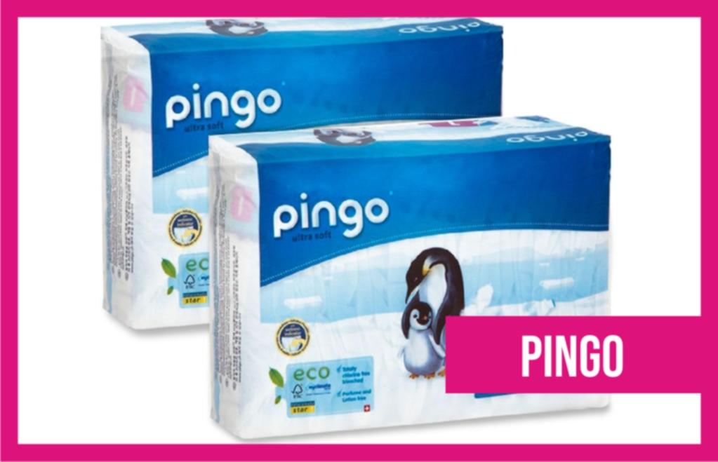 pañales recién nacido Pingo