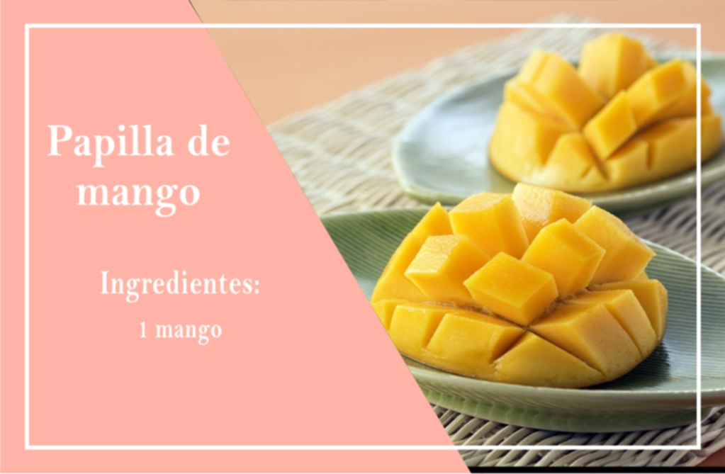 Recetas para bebés - Alimentación Bebés  - Puré de mango