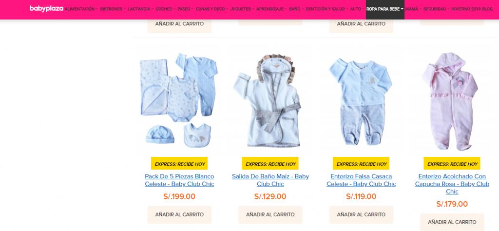 ropa para bebé Ropa de bebé