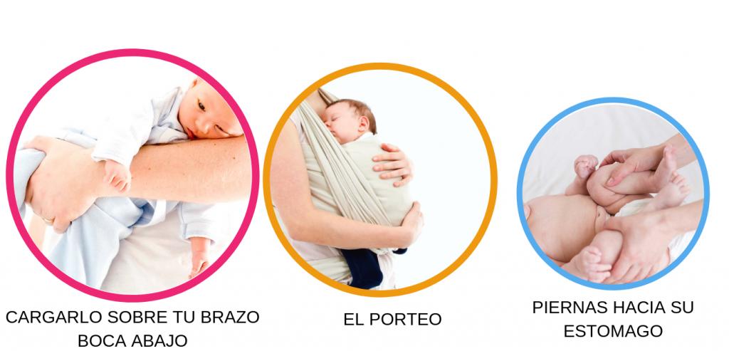 cómo hacer eructar a un bebé