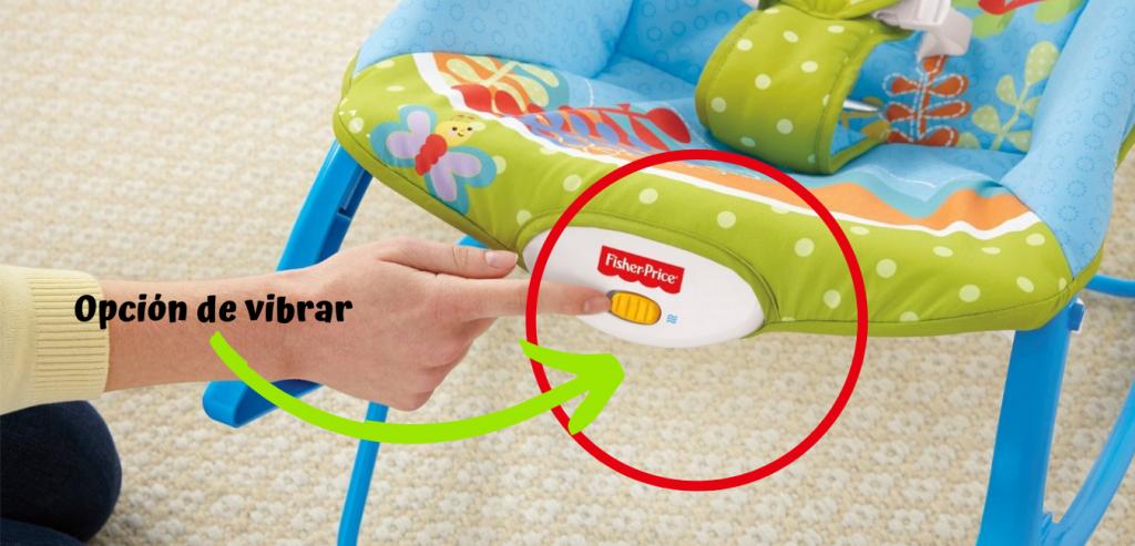 silla mecedora y columpio para bebé