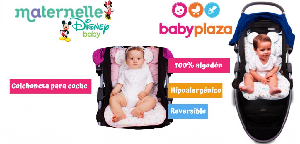 colchoneta para coche maternelle Disney baby