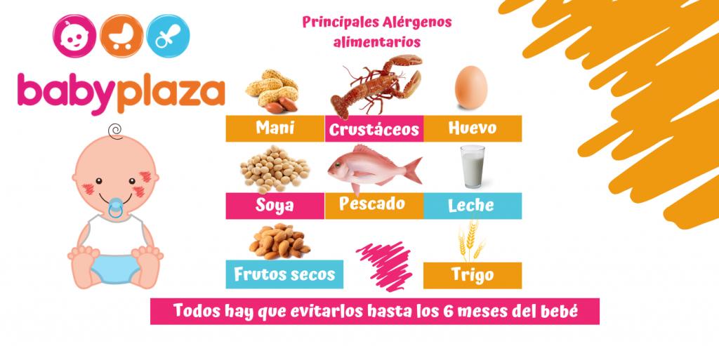 cuidados de un recién nacido y alergias en bebés