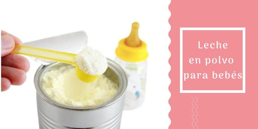 Fórmula en polvo - leche para recién nacidos