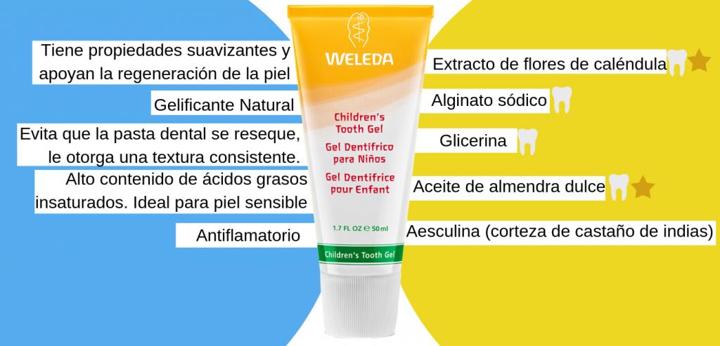 pasta dental para niños / pasta dental para bebés
