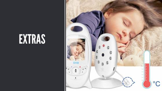 Extras de monitor para bebé