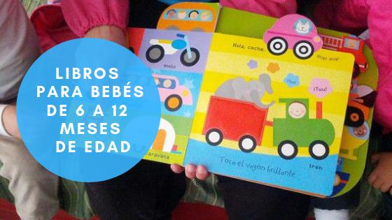 Libros para bebés de 6 meses