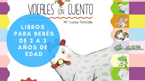 Libros para bebés de 2 a 3 años de edad