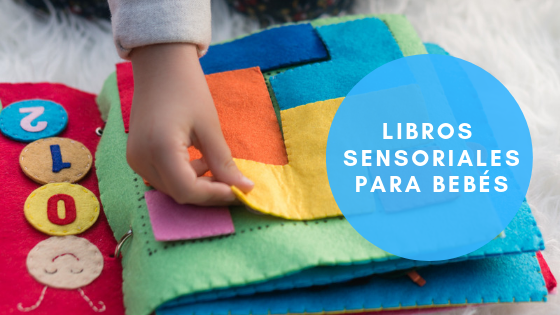 Libros sensoriales para bebés