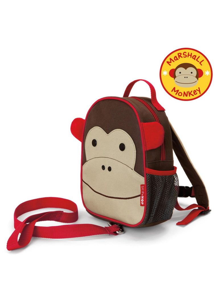 mochila con arnes mono1