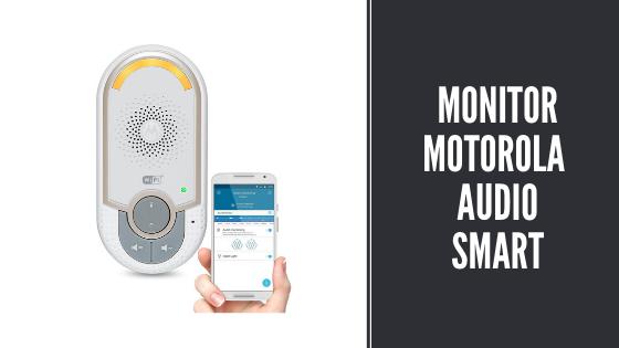 Monitor de bebé motorola audio smart con wifi