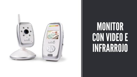 Monitor con video e infrarrojo