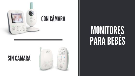 Cámara para bebés con cámara o sin cámara