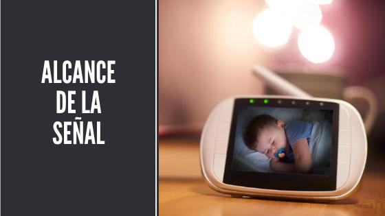 Monitor para bebé - alcance de la señal