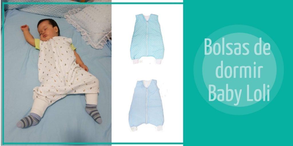 bolsa de dormir para bebé Baby Loli niño