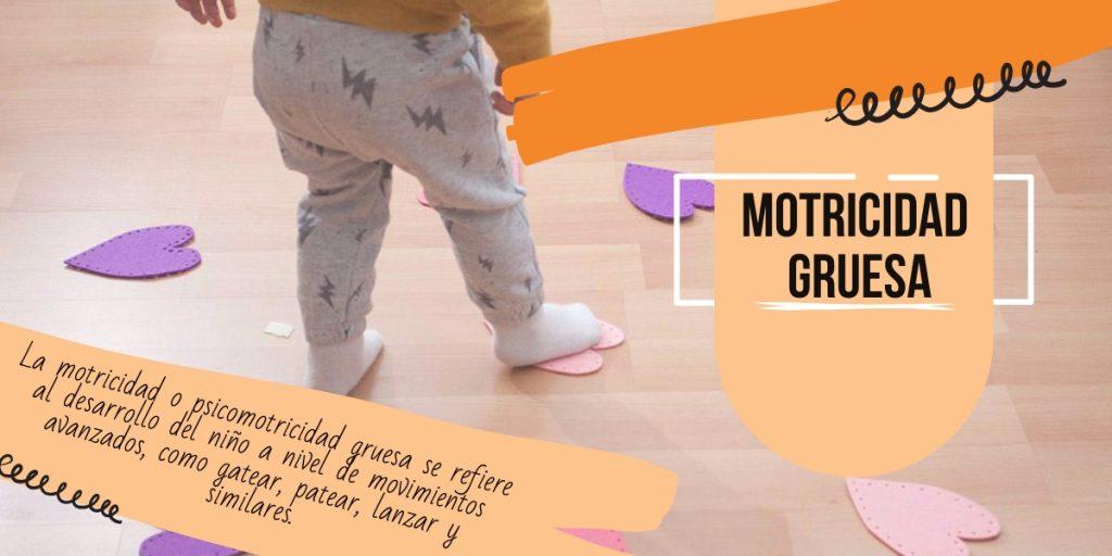 motricidad o psicomotricidad gruesa - juguetes para bebés