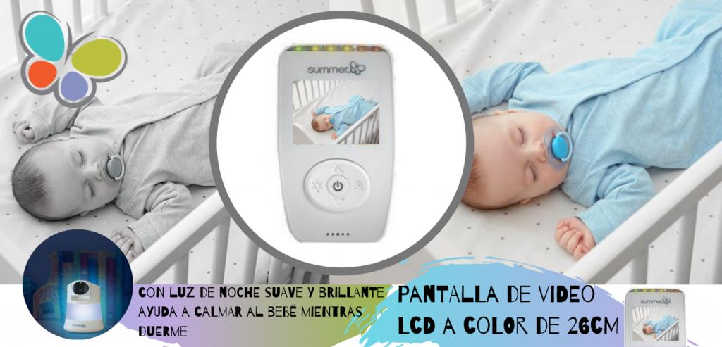 cámara para vigilar bebés de summer Infant