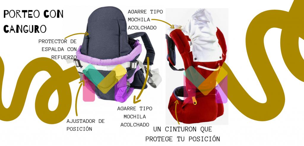 portabebé mochila portabebés