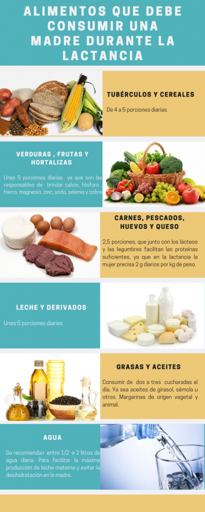 /lactancia materna/alimentación durante la lactancia / alimentación en la lactancia / dieta para madres lactantes