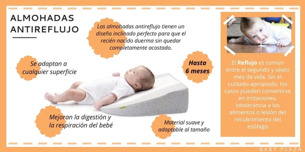 almohada antireflujo - almohadas para bebés babymoov