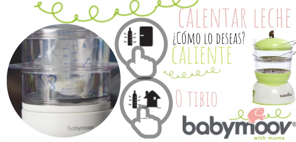 Esterilizador y procesador de alimentos babymoov