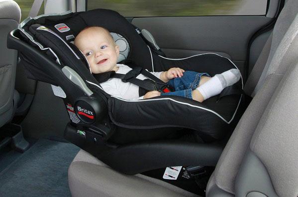 silla de bebé para auto/