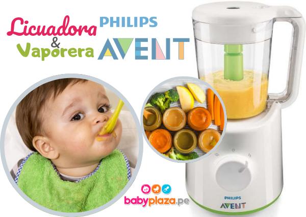 procesador de alimentos para bebé avent