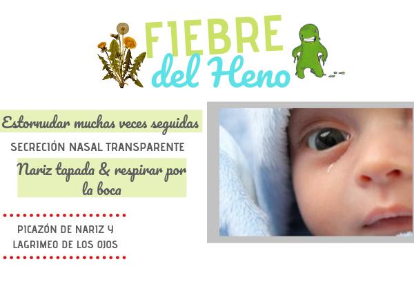 alergias en bebes rinitis