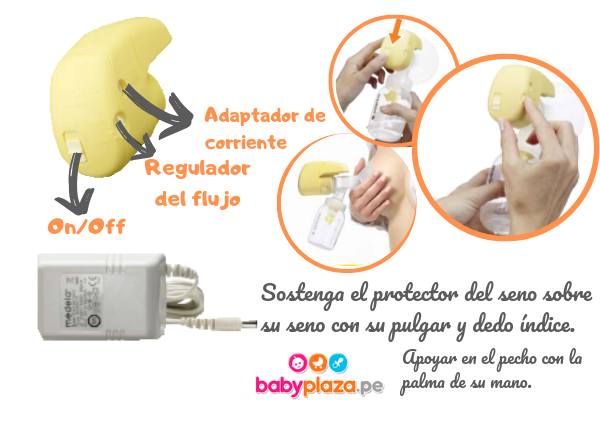extractor de leche materna electrico medela