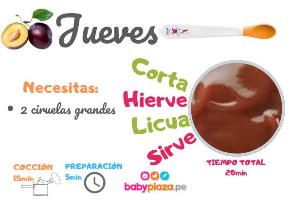 papillas para bebes y comidas para bebes