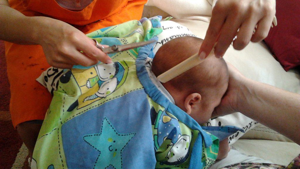 , caída de cabello en bebes, se le puede cortar el pelo a un bebé
