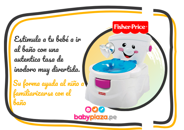 bacin fisher price urinario para niños