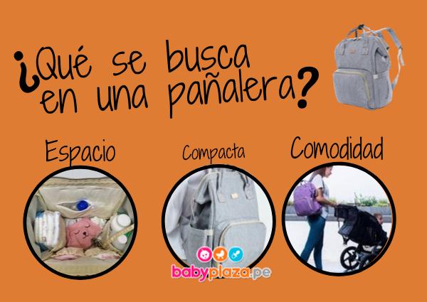 mochilas pañaleras para bebé