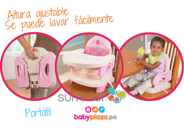 summer infant silla de comer para bebé