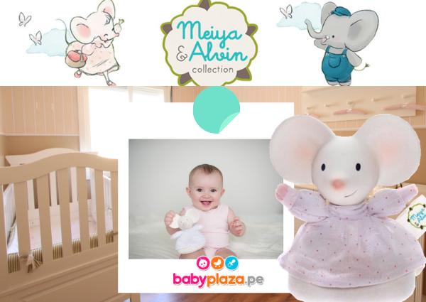muñecos para bebes y sonajas para bebé