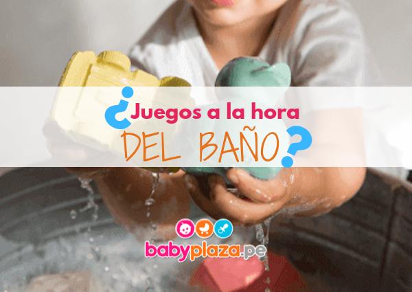 juegos a la hora del baño bebes