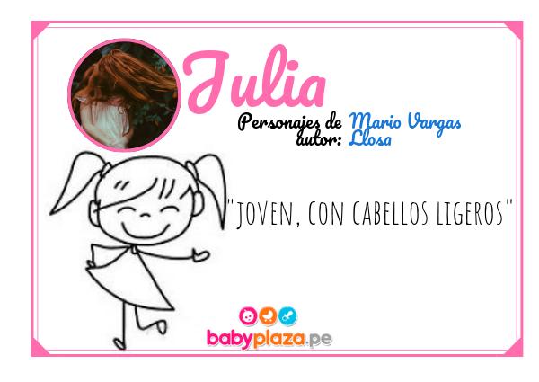 julia nombres para bebés