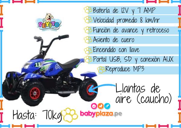 motos a batería para niños peyito
