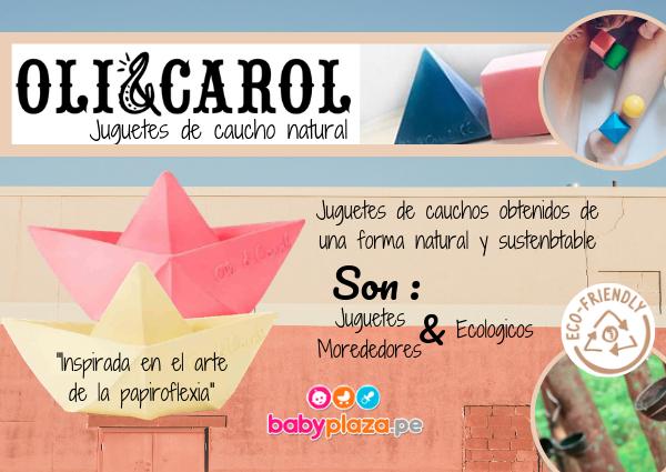 juguetes ecológicos Oli y Carol