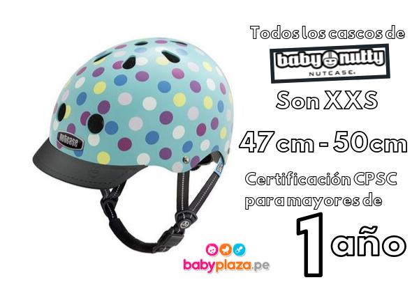 casco para bebé nutcase